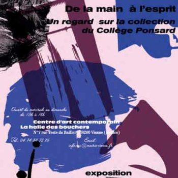 Vignette De la main à l'Esprit » - Un regard sur la collection du Collège Ponsard