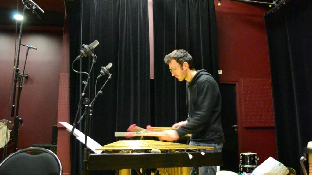 Lucas Genas, percussion