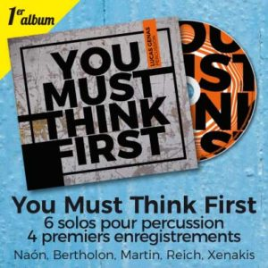 You must think first banner cd